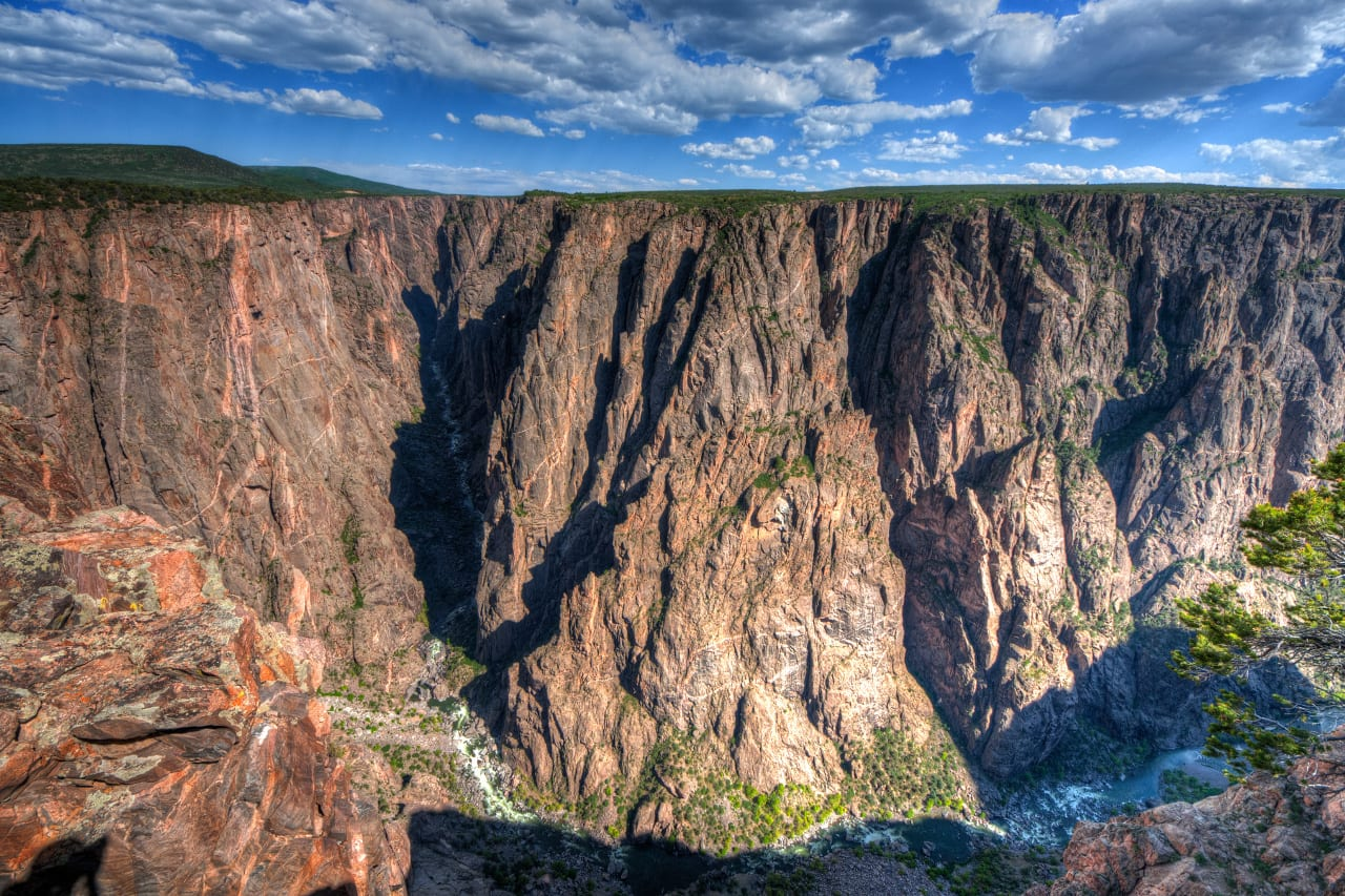 Black Canyon Gunnison Exclamation Point