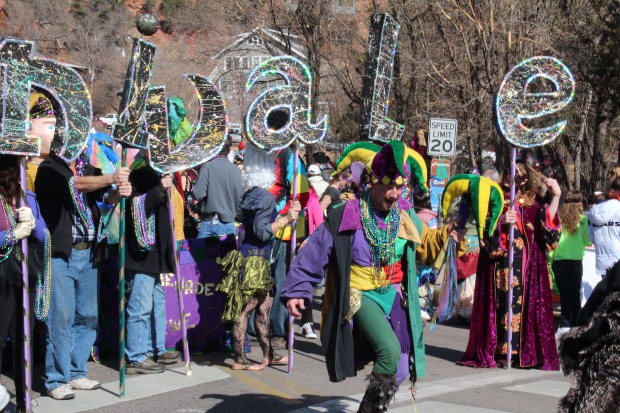 Carnivale Parade Manitou Springs