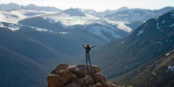 Rocky Mountain National Park Trail Ridge Road Pass