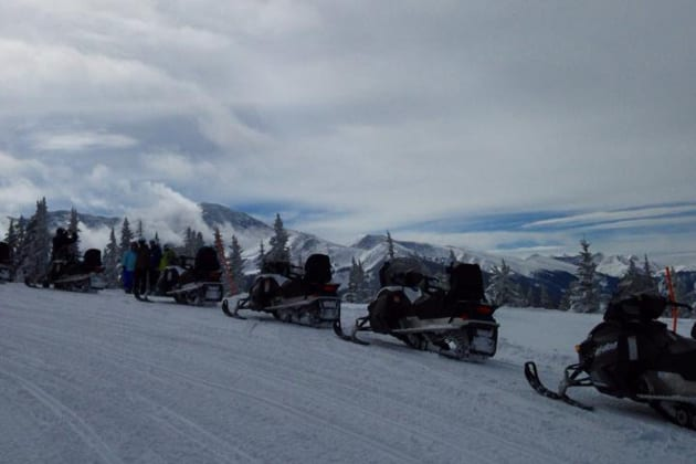 Grand Adventures Snowmobiling Winter Park