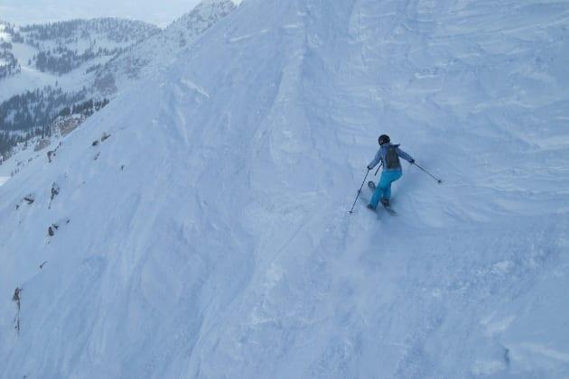 Extreme Skier Kim Reichhelm