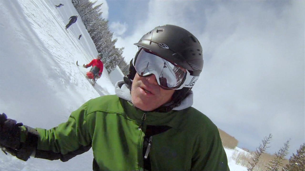 The Movement Adaptive Skiing Movie Matt Feeney