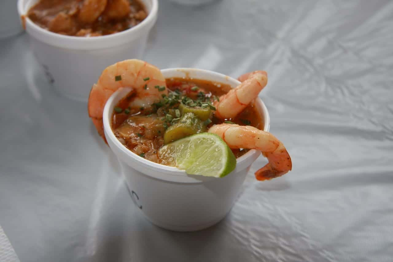 Mumbo Jumbo Gumbo Cook Off Shrimp