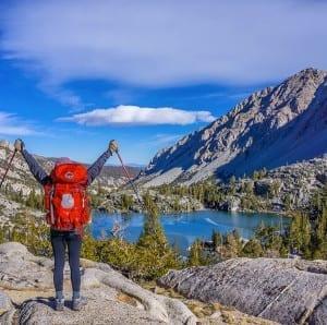 Osprey Backpack Mountain Lake