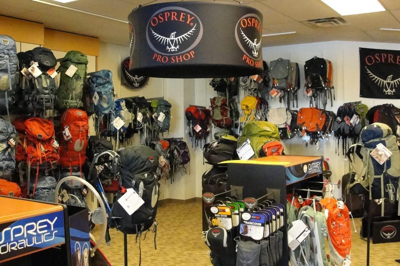 Osprey Packs Pro Shop