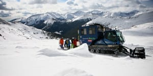 Powder Addiction Snowcat Skiing Jones Pass Colorado