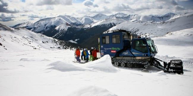 Powder Addiction Snowcat Skiing Jones Pass Colorado