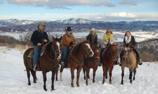 saddleback ranch  year round action in steamboat springs