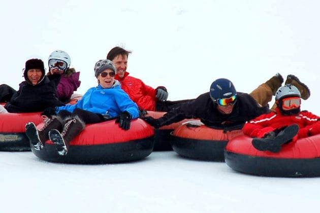 Saddleback Ranch Snow Tubing Steamboat Springs