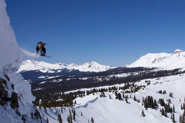San Juan Backcountry Snowboarding Colorado
