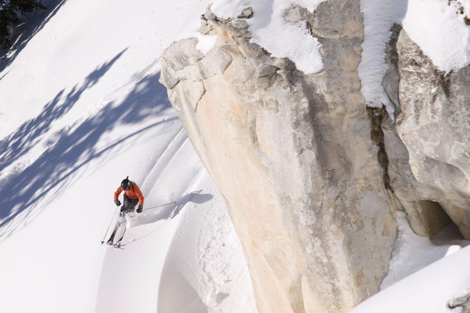 San Juan Untracked Backcountry Skier