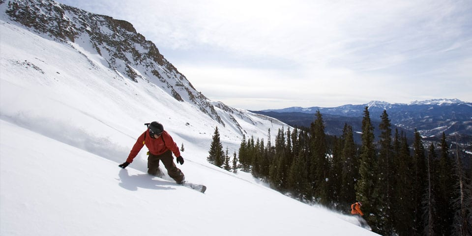 San Juan Untracked Backcountry Snowboarding