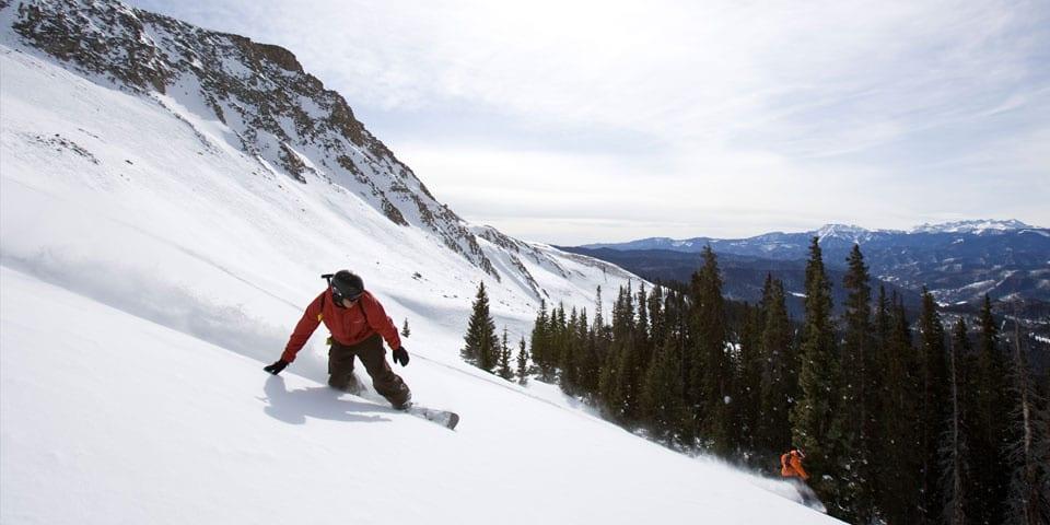 San Juan Untracked Backcountry Snowboarding