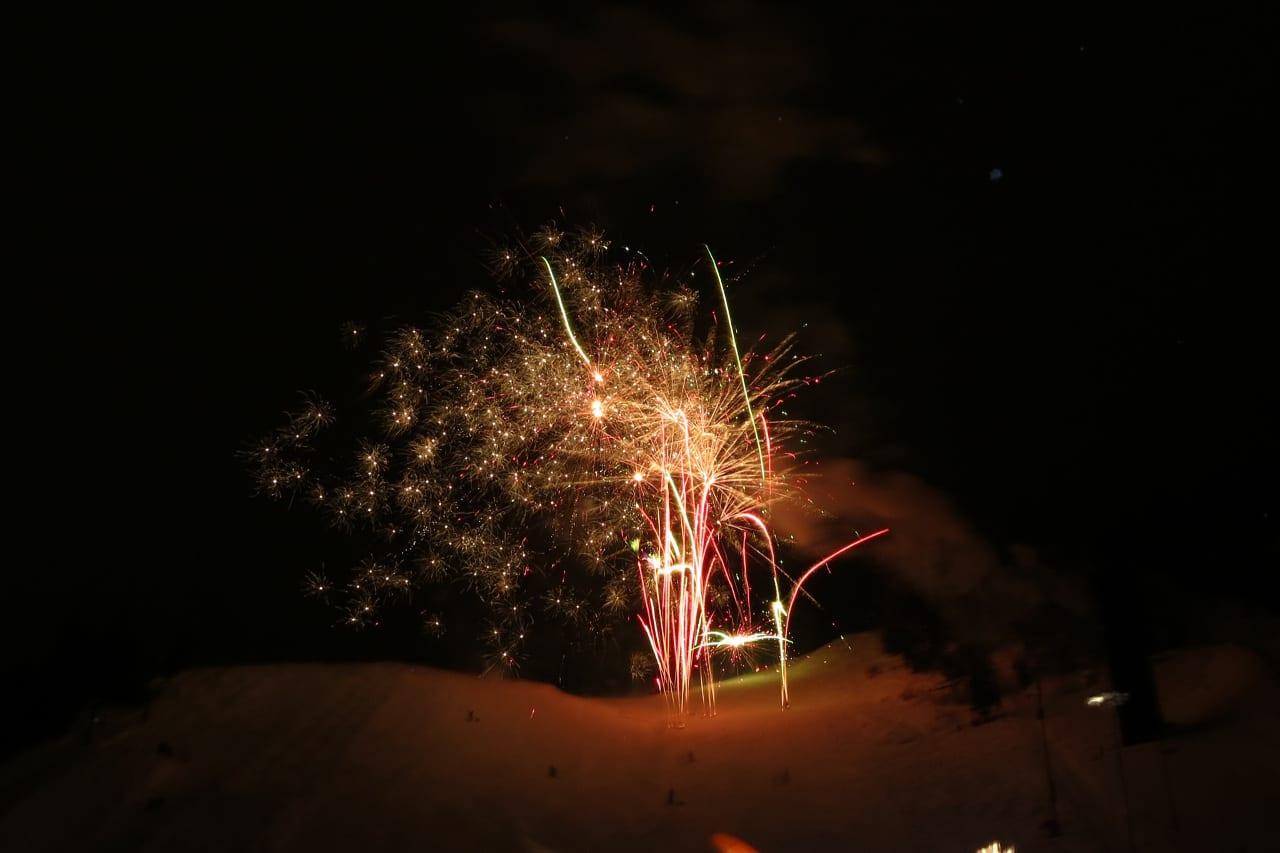 Steamboat Winter Carnival Fireworks