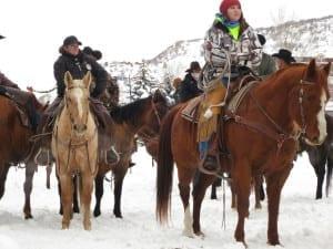 Steamboat Winter Carnival Horses