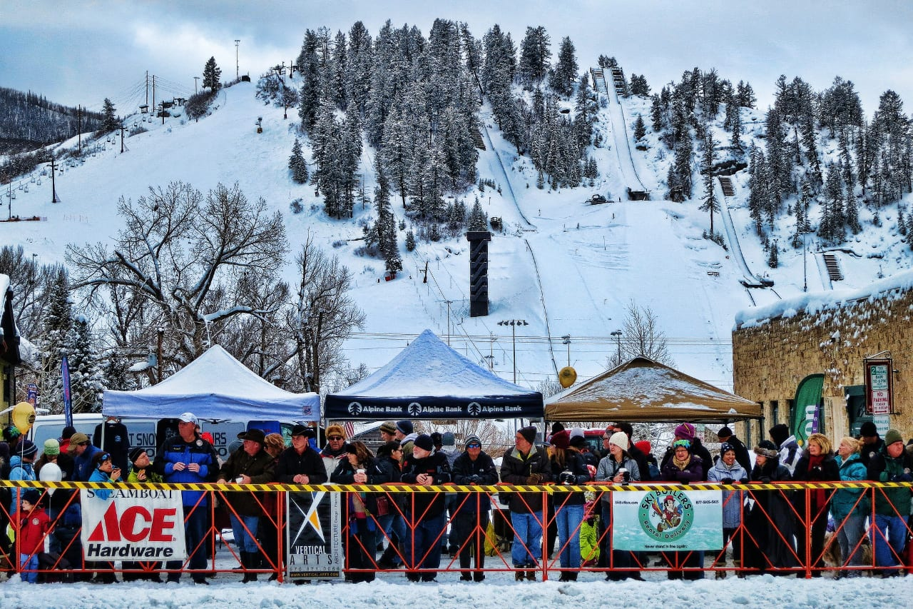 Steamboat Springs Winter Carnival Spectators
