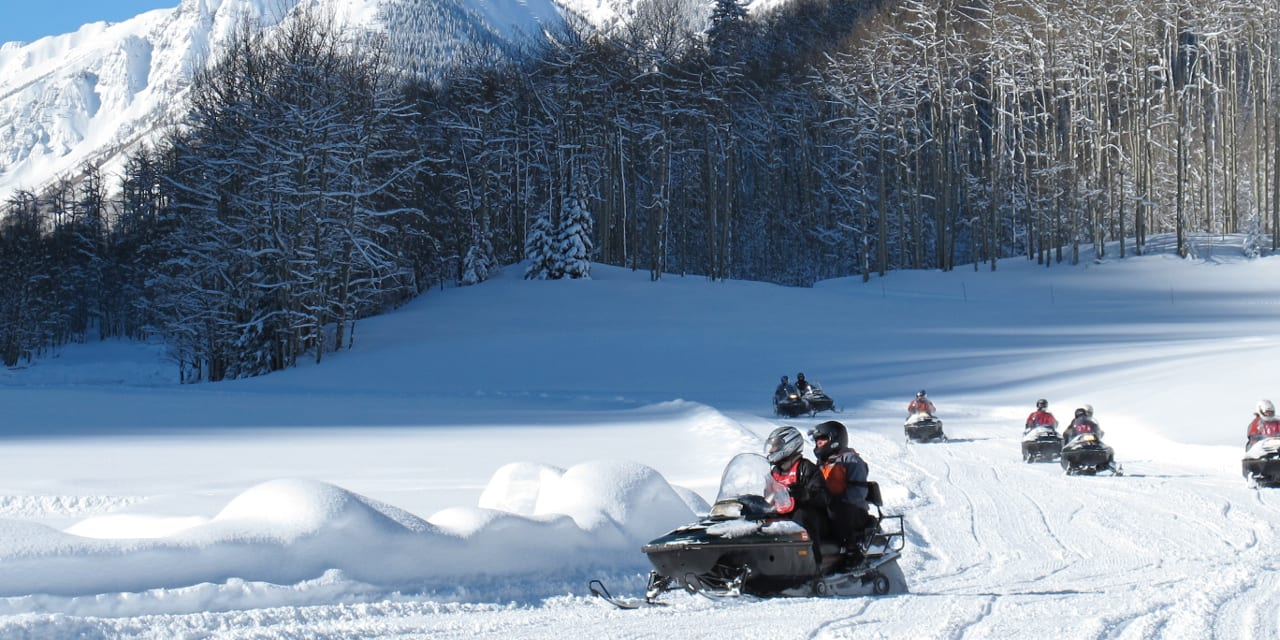 T-Lazy-7 Ranch Aspen Snowmobiling
