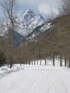 Aspen Colorado Winter Maroon Bells