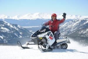 Snowmobiling Leadville Colorado