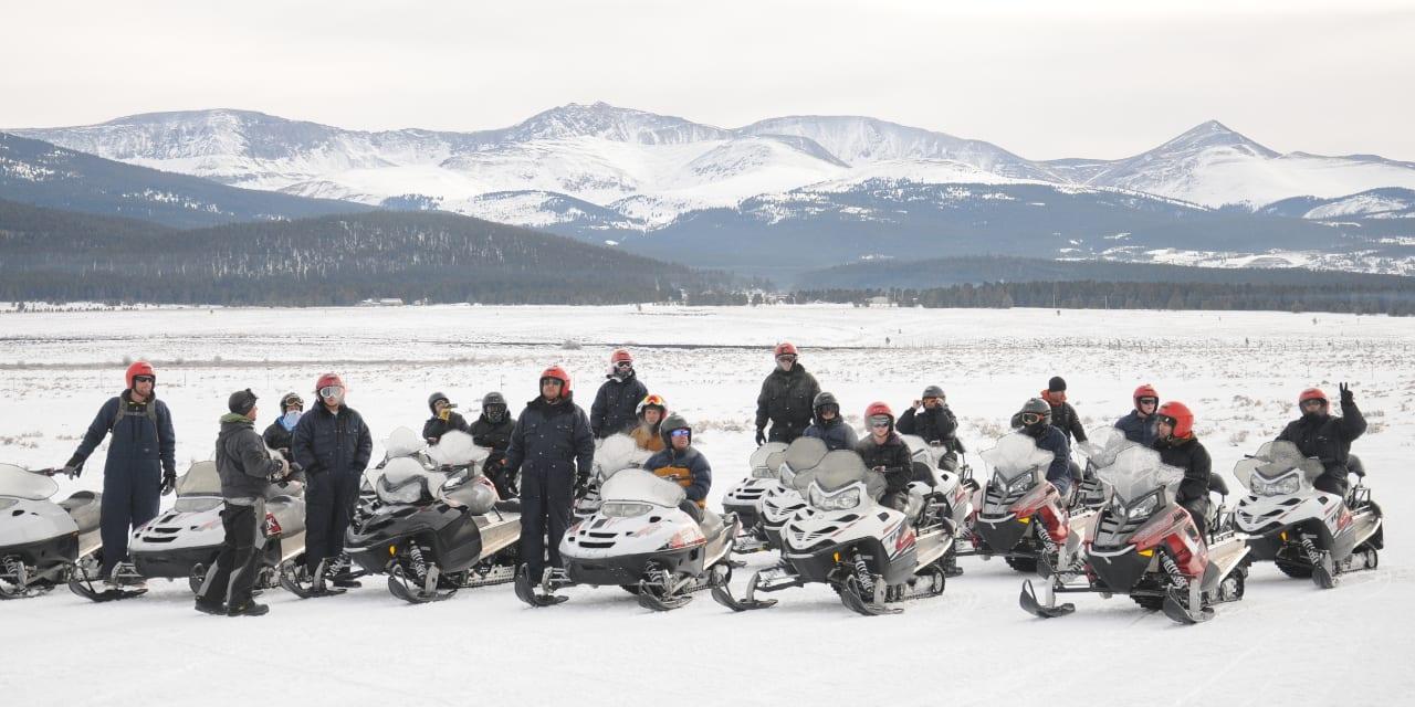White Mountain Tours Snowmobiling