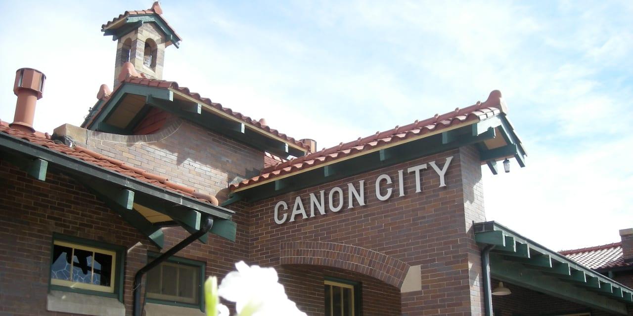 Santa Fe Railroad Depot Canon City