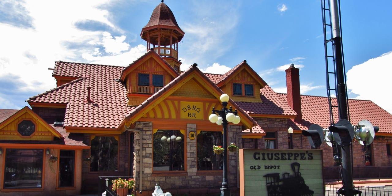 Denver Rio Grande Railroad Depot Colorado Springs