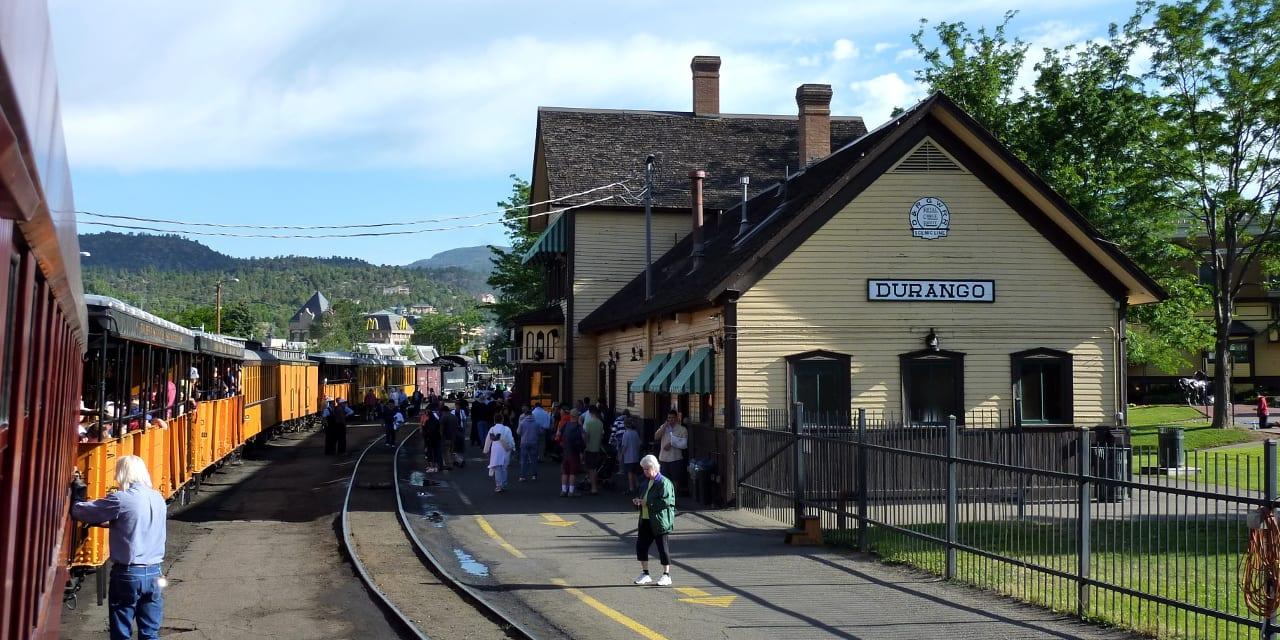 Durango Silverton Narrow Gauge Railroad Depot