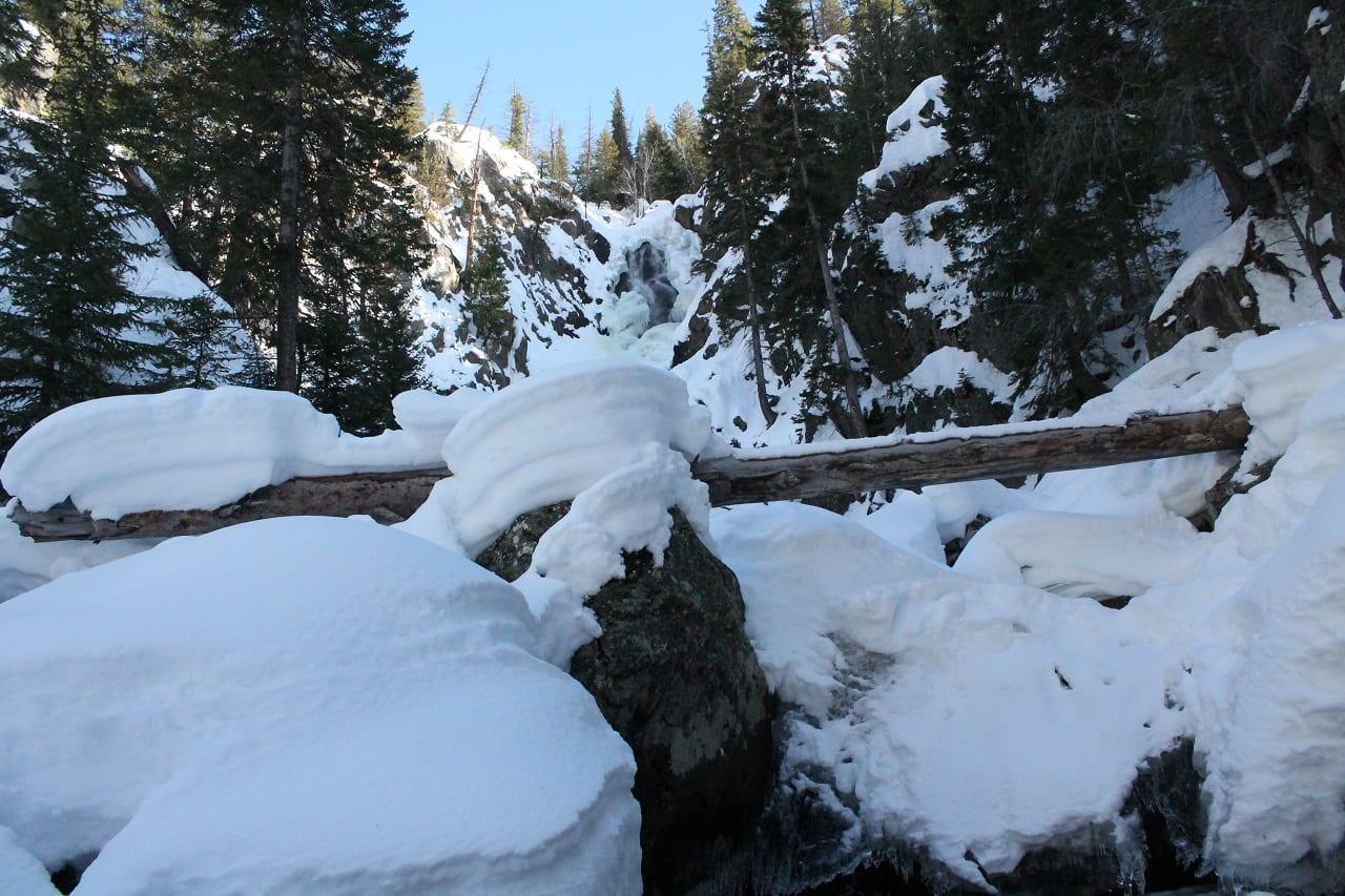 Hiking in steamboat fish creek falls routt county for Fish store colorado springs