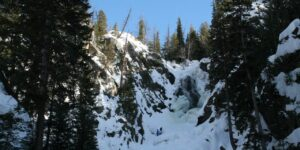 Winter Walk to Steamboat's Fish Creek Falls