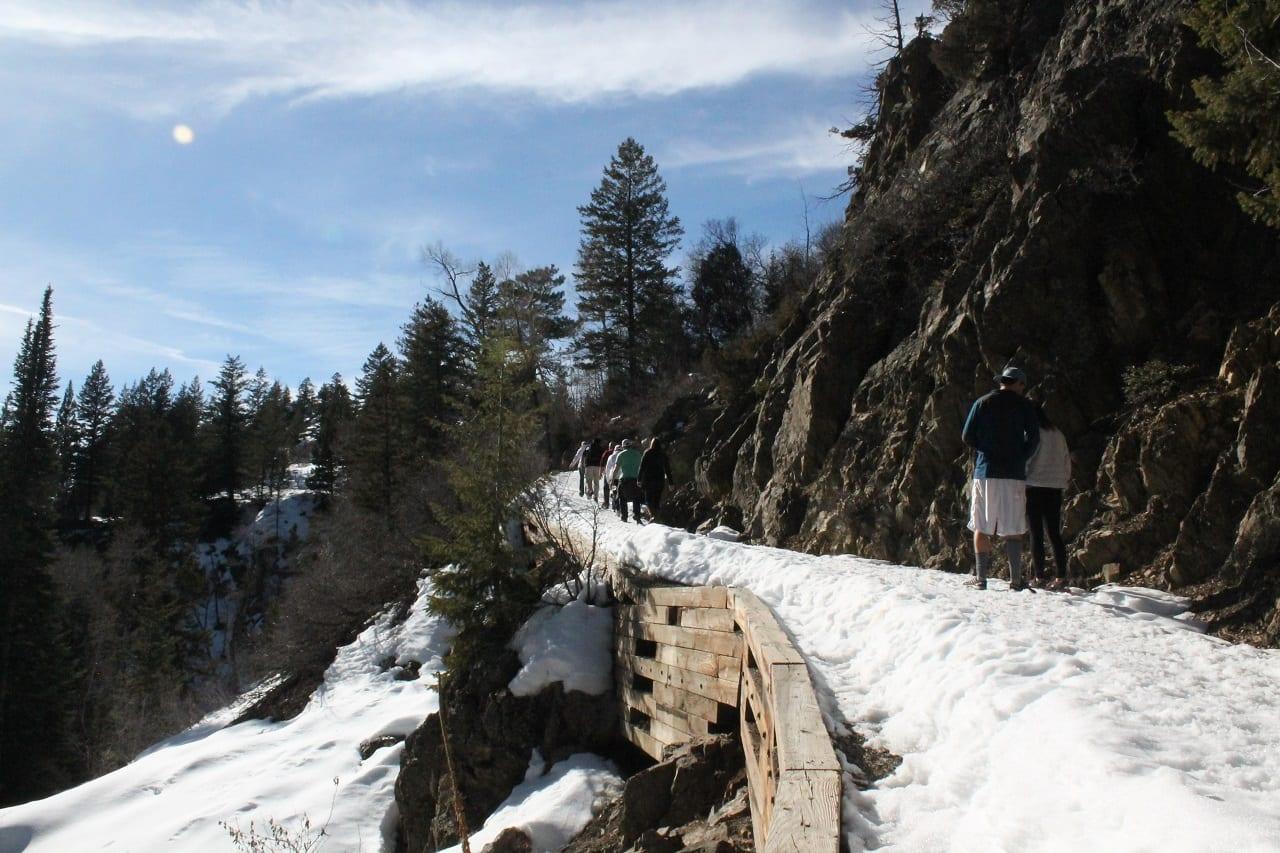 Fish Creek Falls Trail Steamboat Springs