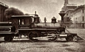 Denver Rio Grande 1871 Baldwin Motezuma Locomotive