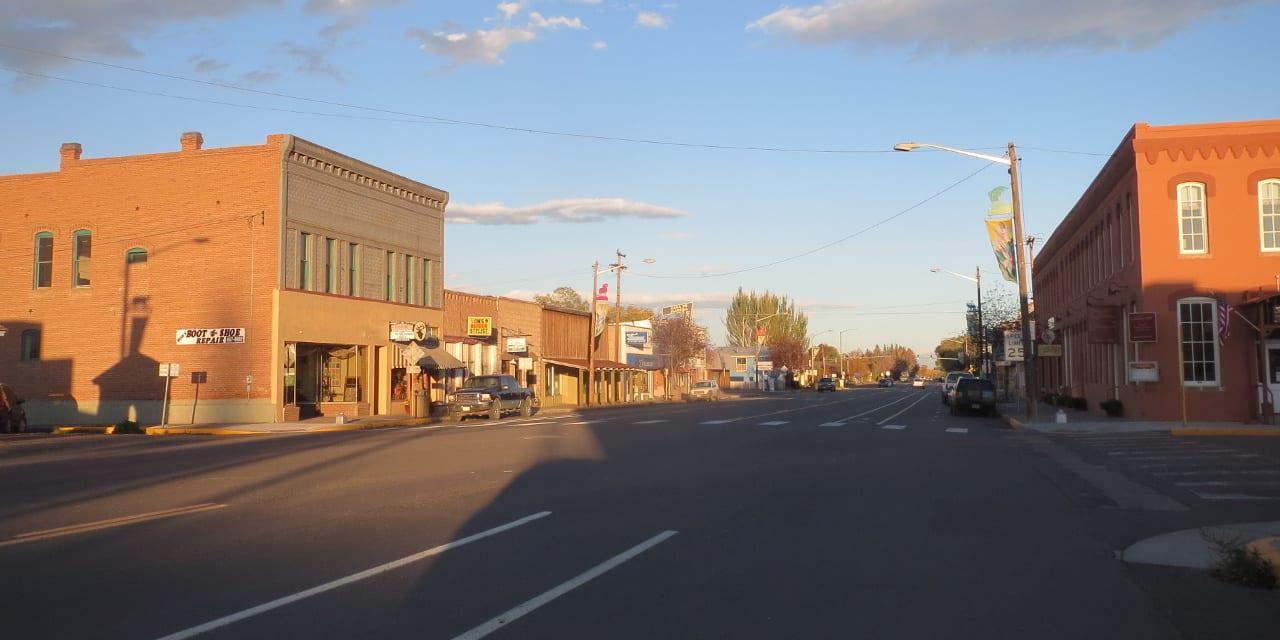 Downtown Del Norte Colorado