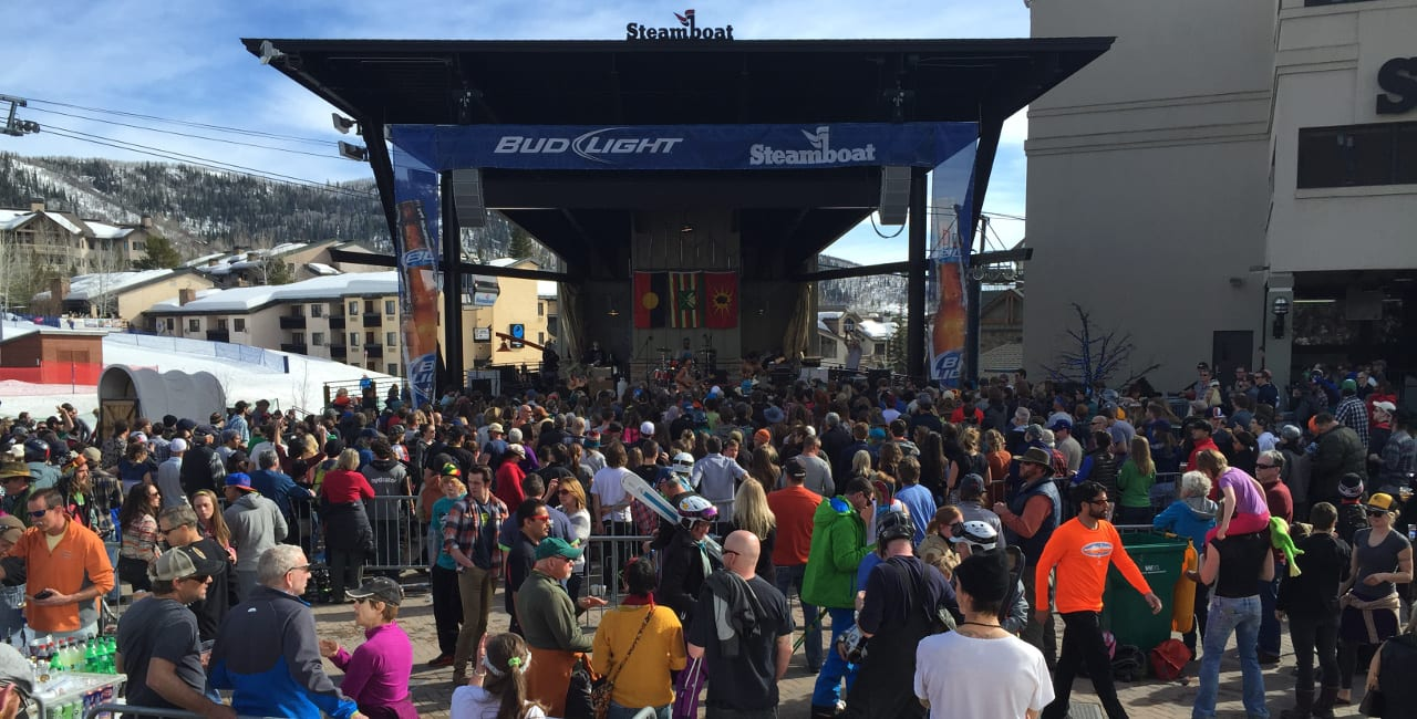 Bud Light Rocks The Boat Steamboat Springs