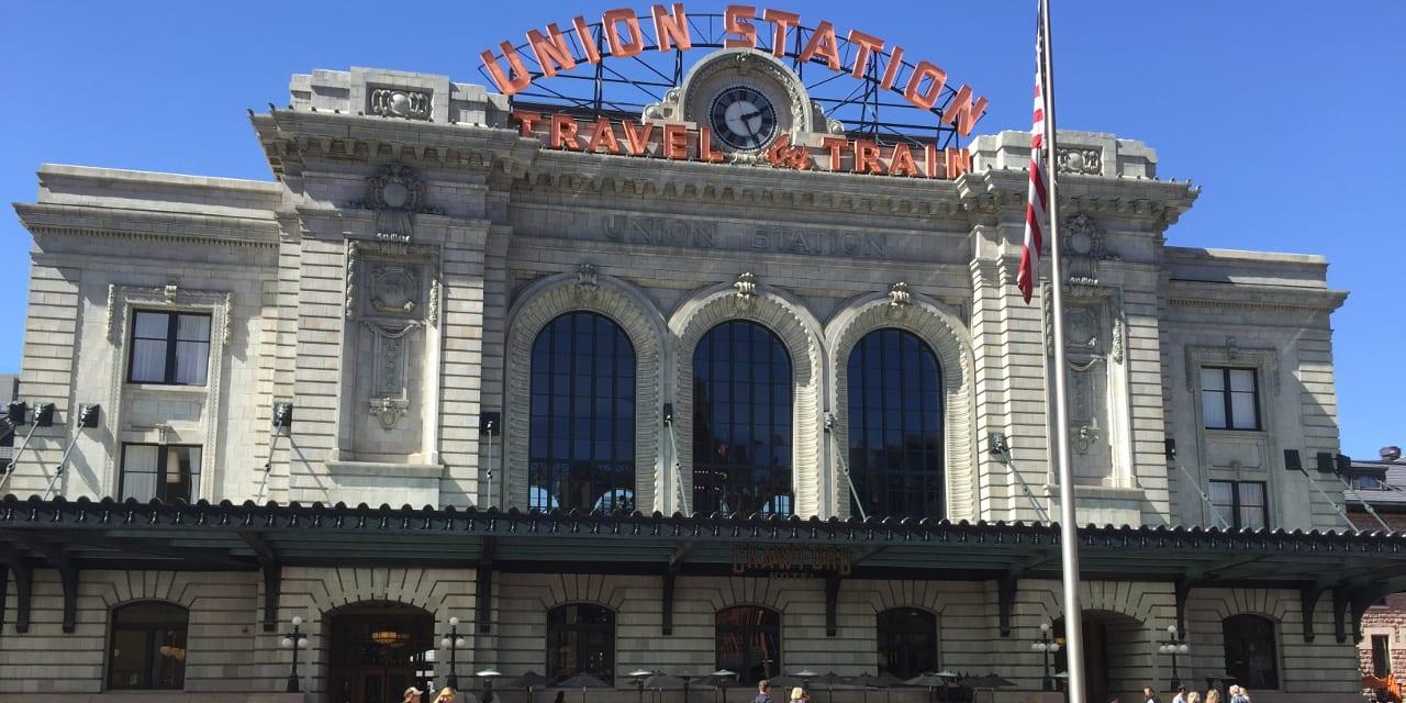 Denver Union Station Railroad Depot