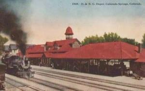 Denver Rio Grande Railroad Colorado Springs