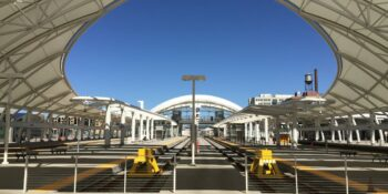 Denver Union Station Railroad Depot Train Tracks