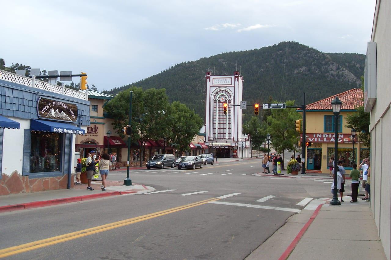 Downtown Estes Park Colorado