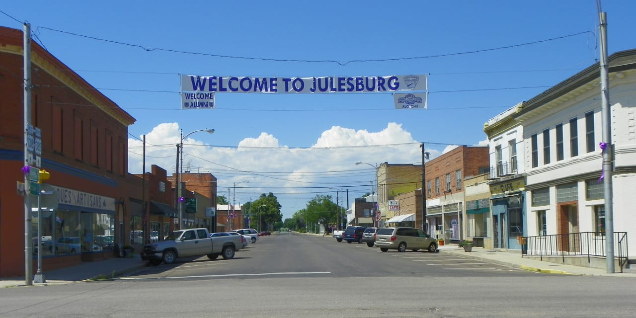 Julesburg Colorado Downtown