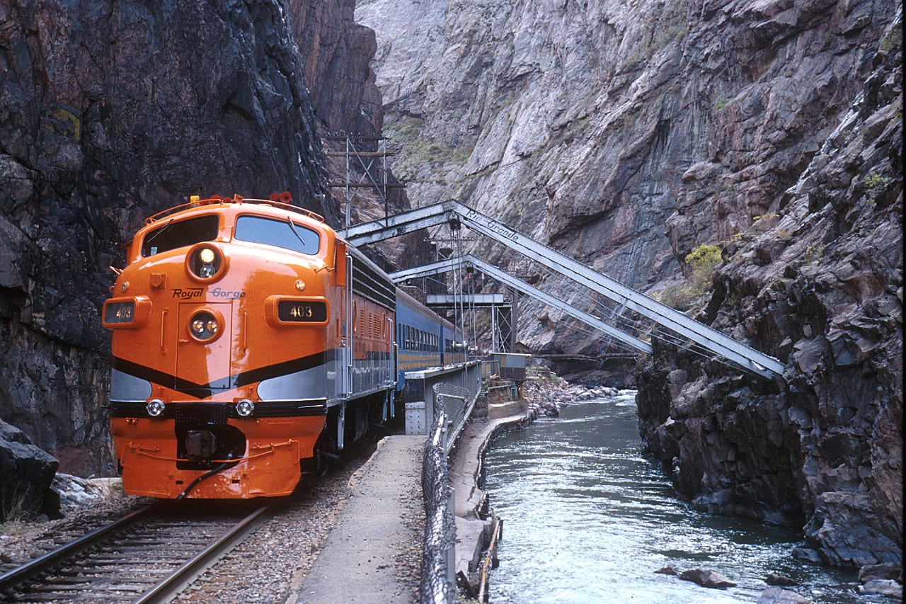 Royal Gorge Route Railroad Hanging Bridge