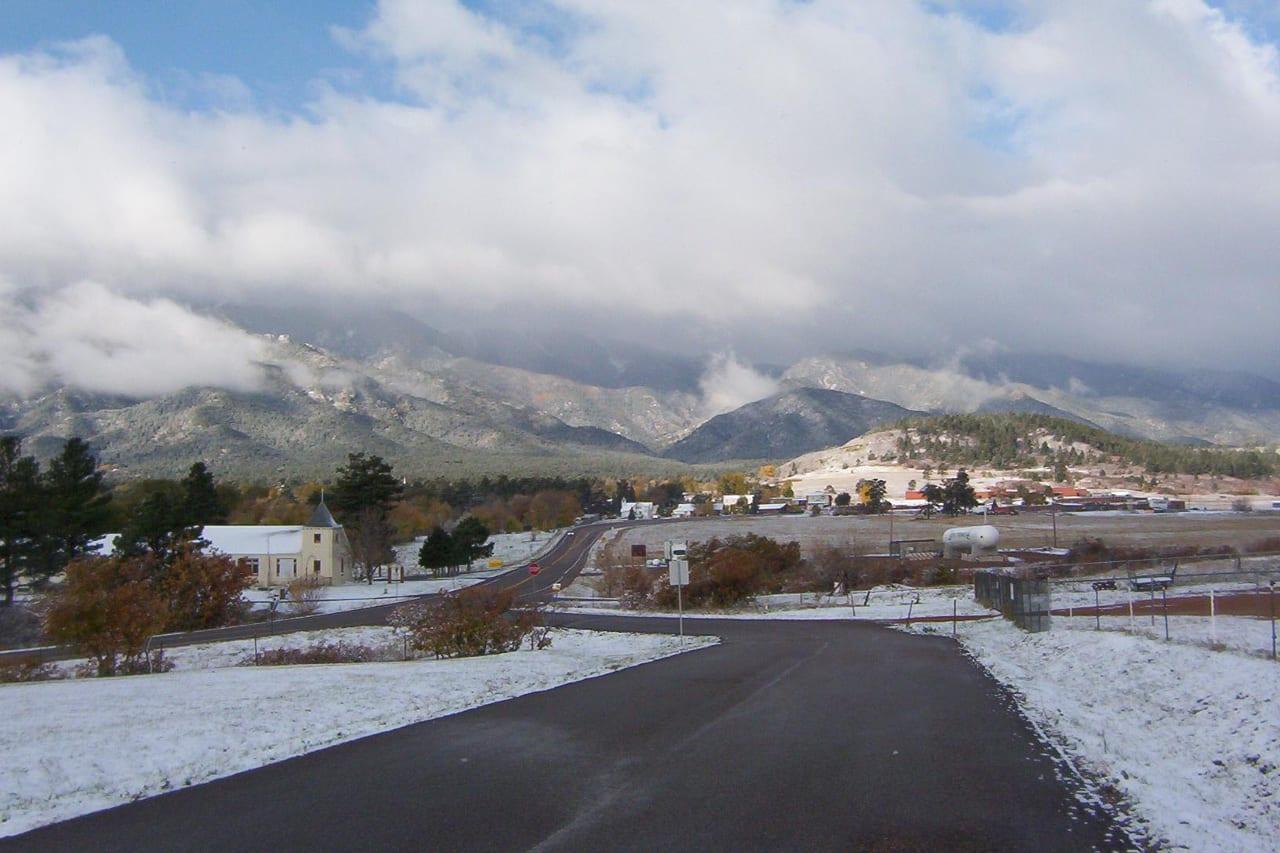 Rye Colorado Countryside Winter