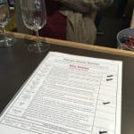 Snowy Peaks Winery Tasting List