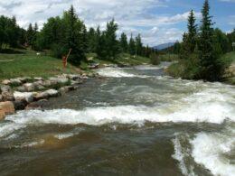 Blue River Breckenridge Colorado