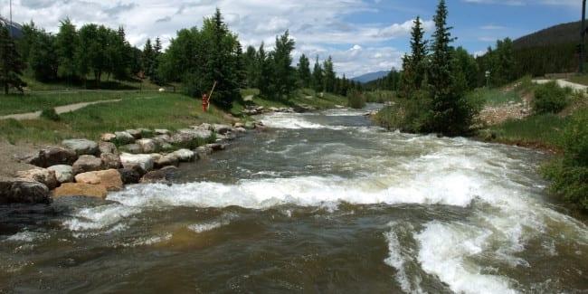 Breckenridge Kayak Park Blue River Sup And Kayaking In