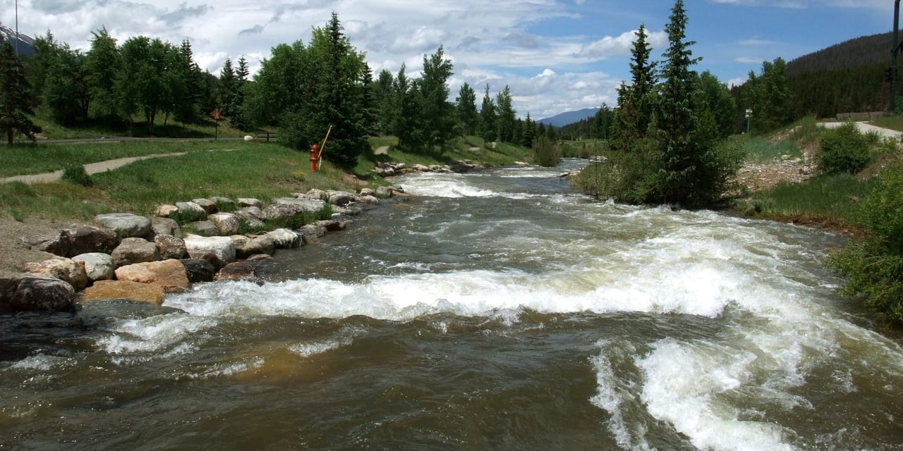 Blue River Breckenridge Colorado