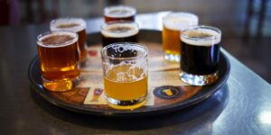 Bristol Brewing Beer Sampler Colorado Springs