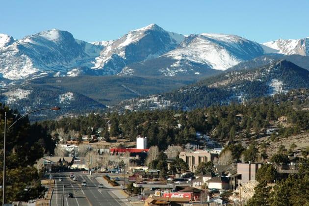 Estes Park Colorado Rocky Mountains