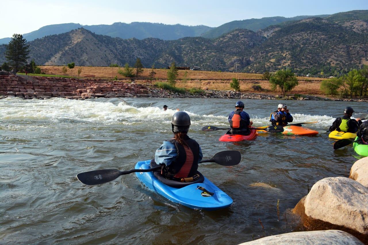 Glenwood Springs Whitewater Park Colorado River Tubing