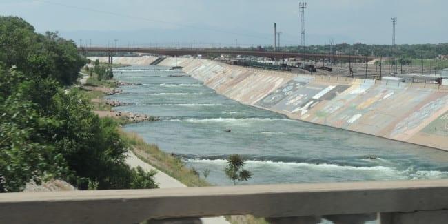 Pueblo Whitewater Park Arkansas River