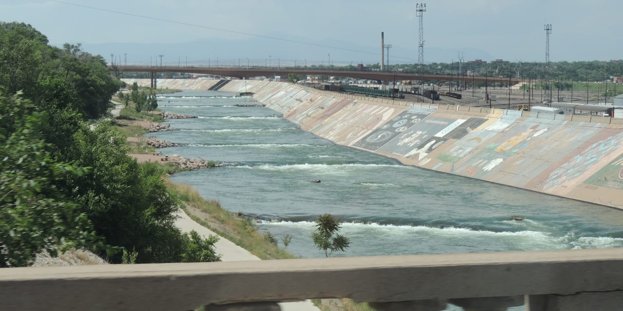 Pueblo Whitewater Park Arkansas River