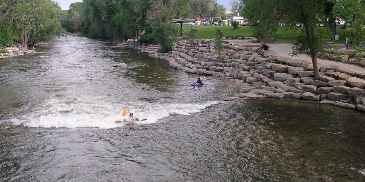 Salida Whitewater Park Kayaking